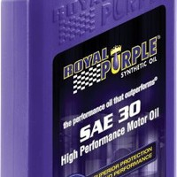 Royal Purple 01030 SAE 30 Heavy Duty High Performance Synthetic Motor Oil - 1 Quart Bottle | AihaZone Store