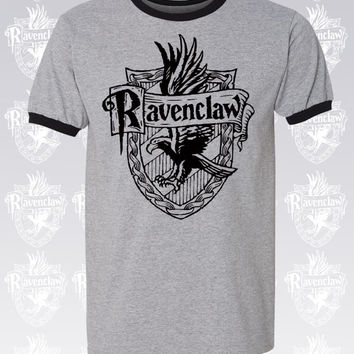 Ravenclaw shirt. Ravenclaw t shirt. Harry potter shirts. Harry potter shirt. Men's Unisex Ringer t Shirt. S - 3XL. 2 Colors.