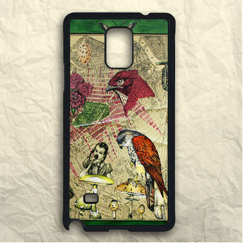 Floral Fower Bird Samsung Galaxy Note 3 Case