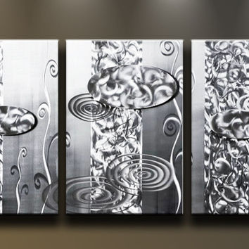 Shop Contemporary Metal Wall Art on Wanelo