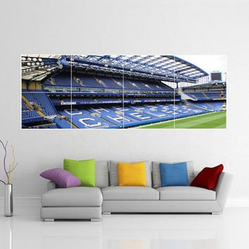 Chelsea Stamford Bridge Giant Wall Art Picture Poster