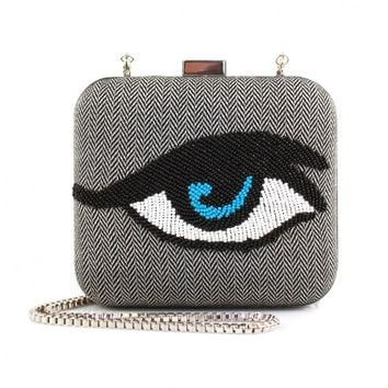 Shop - Monochrome eye bag | made by Sarah's Bag selected by Valery Demure |