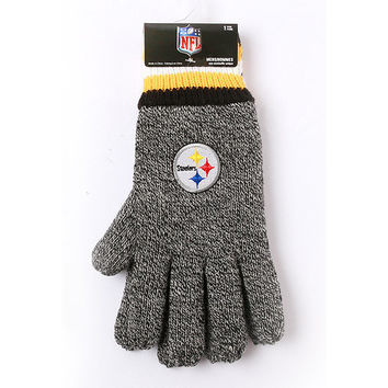 NFL Pittsburgh Steelers Thermal Gloves [Men's - One Size]