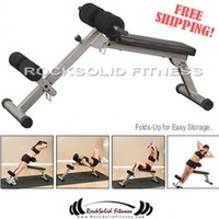 Rocksolid Ab Board Hyperextension bench