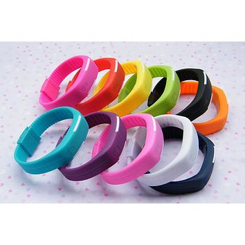 Electronic Bracelet Watch LED Touch Screen Smart Student Movement