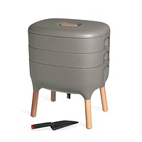 Indoor Vermicomposting Worm Farm Compost Bin - Make Worm Castings at Home