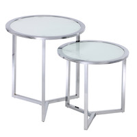 Porthos Home Marcel Nesting Table (Set of 2) | Overstock.com Shopping - The Best Deals on Coffee, Sofa & End Tables