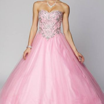 Ball gown Quinceanera sweet 15 prom dress jul#347