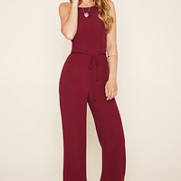 Strappy Woven Jumpsuit