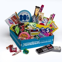 Hometown Favorites 1980's Nostalgic Candy Gift Box, Retro 80's Candy, 3-Pound