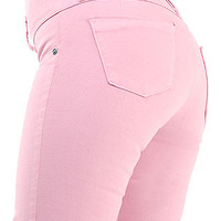 Skinny Jeans - Made in Colombia Jeans - Pink Colored Jeans - $29.99
