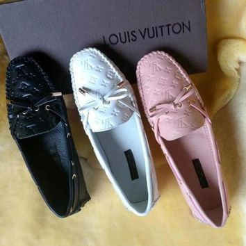 LV Casual peas shoes