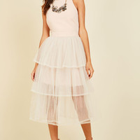 Tulle Me Everything Midi Dress | Mod Retro Vintage Dresses | ModCloth.com