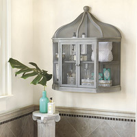 Aviary Birdcage Decorative Shelf  | Ballard Designs