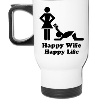 Happy Wife - Travel Mug