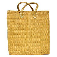 Water Reed Tote, Gold, Totes