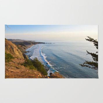 Big Sur, California Coast Rug by leahdaniellle