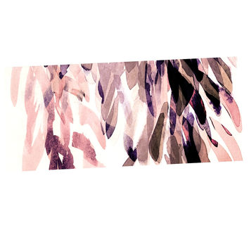 "Iris Lehnhardt ""Abstract Leaves II"" Brown Tan Desk Mat"