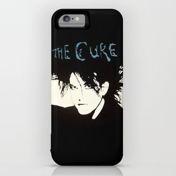 Robert Smith from The Cure (Goth) iPhone & iPod Case by TOM / TOM