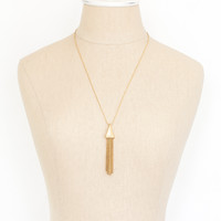70's__Direction One__Tassel Pendant Necklace