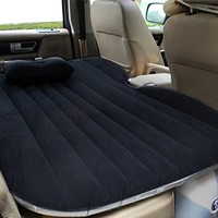 Heavy Duty Car Travel Inflatable Mattress Car Inflatable Bed SUV Back Seat Exten...