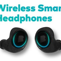 The Dash – Wireless Smart In Ear Headphones — Kickstarter