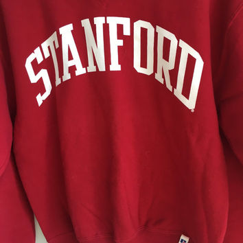 vintage stanford university crewneck sweater / medium