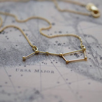 Necklace Ursa Major 14k solid gold