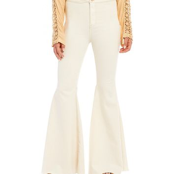 Free People Float On Flare Leg High Rise Jeans | Dillards