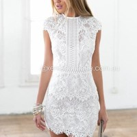 Jessica 2.0 Dress (White) | Xenia Boutique | Women's fashion for Less - Fast Shipping