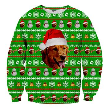 Custom Pet Christmas Sweater