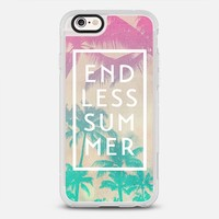 Pink Turquoise Ombre Palm Tree Beach Endless Summer iPhone 6s case by hyakume | Casetify