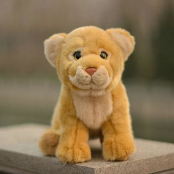 Lion Cub Stuffed Animal Plush Toy 11""