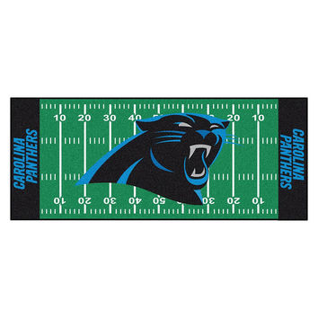Carolina Panthers NFL Floor Runner (29.5x72)