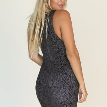 ACACIA - Tulum Dress | Black Lining