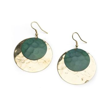 Ancient Market Moon Earrings - Fair Trade