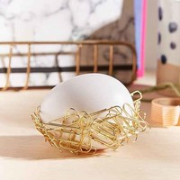 Egg Nest Paperclip Holder
