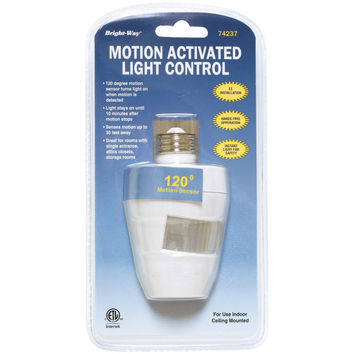 Bright-way Motion Activated 120Â¡ Indoor Light