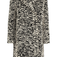 Lanvin - Brushed cotton-blend jacquard coat