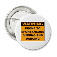 Musical Theater Buttons
