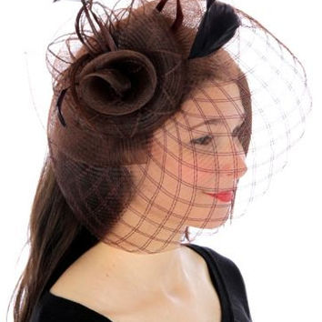 WOMEN S HAT Summer Hat for her victorian hat dress up hat fascin 1a1ccebf126