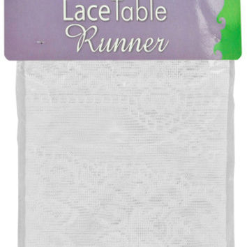 white lace table runner Case of 12