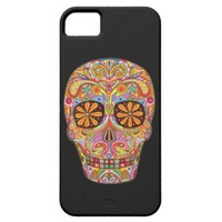 Day of the Dead Art iPhone 5 Case by Case-Mate iPhone 5 Case from Zazzle.com