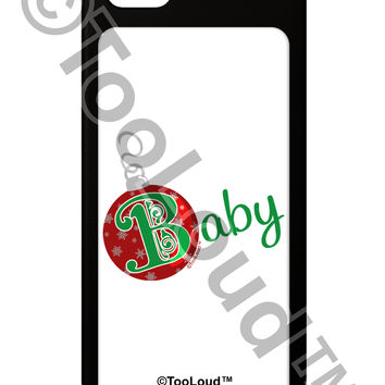 Matching Family Ornament Baby iPhone 5 / 5S Grip Case