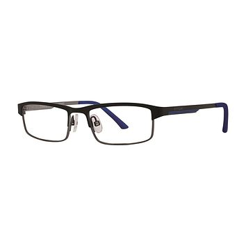 Timex - Dugout 48mm Black Eyeglasses / Demo Lenses