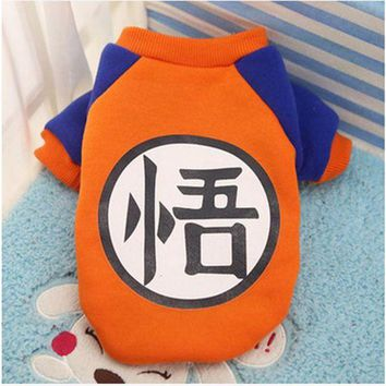 DCCKIHN 2016 New Hot Winter Warm Pet Dog Clothes Soft Cotton Dog Coat Jacket Cute Cartoon Clothing Costume For  Chihuahua Puppy Dogs