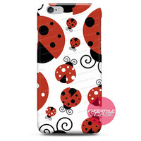 Lady Bugs Pattern iPhone Case Cover Series