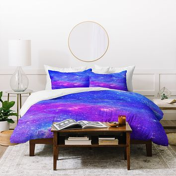 Viviana Gonzalez Beautiful galaxy 1 Duvet Cover