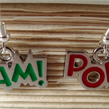 Bam Pow earrings by AshleysCharm on Etsy