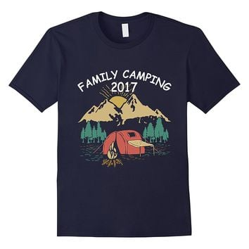 Family Camping tent 2017 Funny Camp-camping t shirt